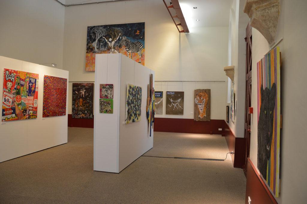 Le Printemps de l'Art Urbain (Mosko, Mesnager, Miss Tic, Artiste Ouvrier, Anis, Cumbone)