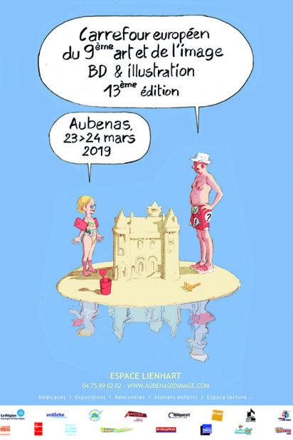 affiche Aubenas
