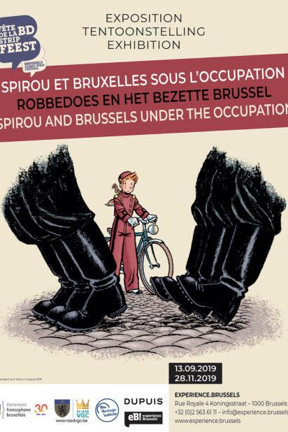 Affiche Spirou 60x80-3:TC
