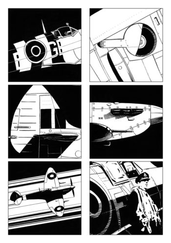 6 visuels spitfire - portfolio Agosto