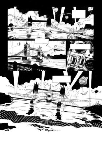 Planche n&b - Portfolio Agosto