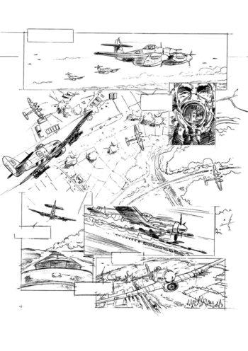 crayonné planche - portfolio Agosto